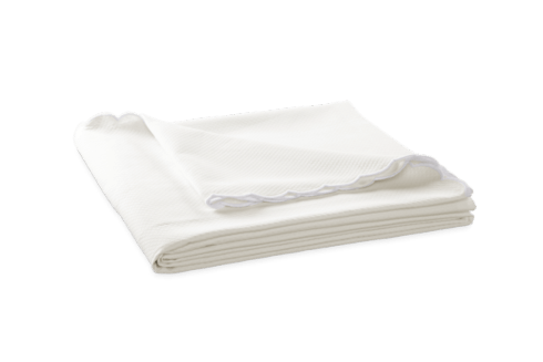 Diamond Pique King Ivory Coverlet collection with 1 products