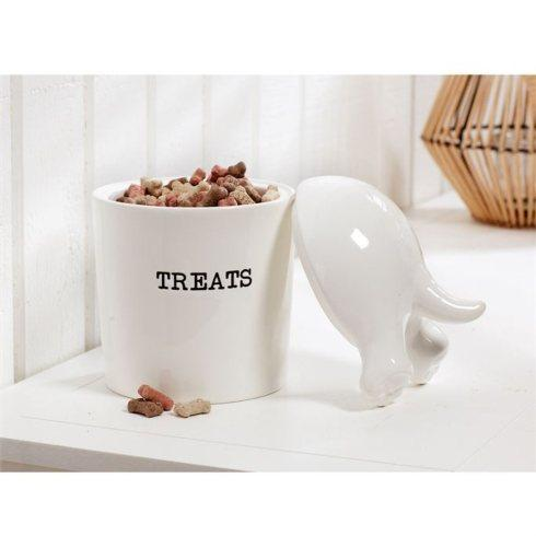 $34.00 Dog Tail Treat Canister