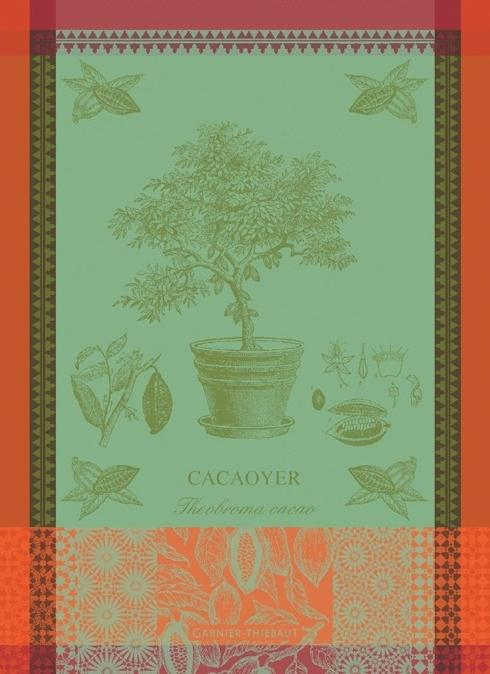 Cacaoyer en Pot Vert Kitchen Towel collection with 1 products
