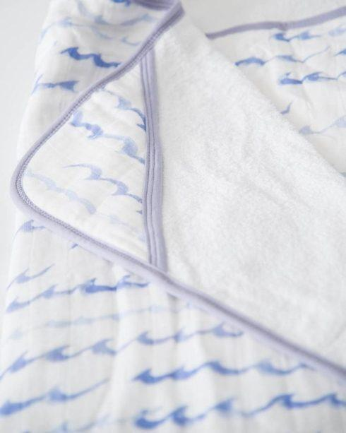 $50.00 Big Kid Cotton Hooded Towel High Tide
