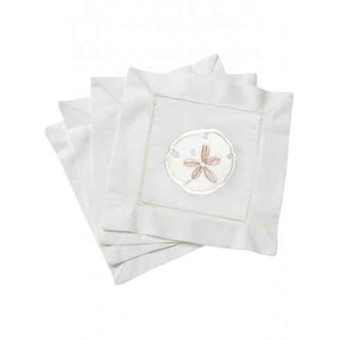 S/4 Cocktail Napkins Sand Dollar collection with 1 products