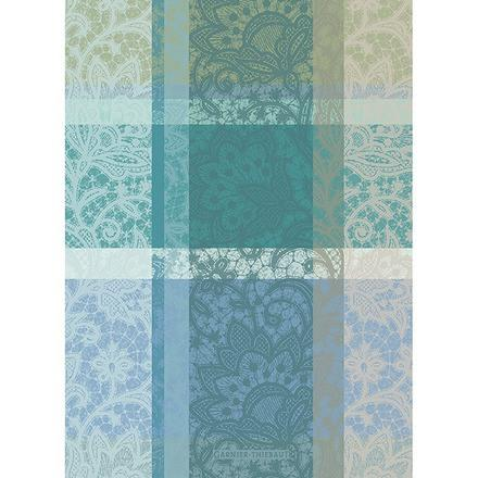 Mille Dentelles Turquoise Kitchen Towel collection with 1 products