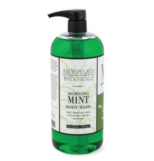 $32.00 Morning Mint 33oz. Body Wash