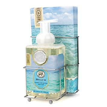 $28.00 Beach Foaming Hand Soap Napkin Set
