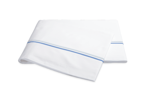 Queen Essex Azure Flat Sheet collection with 1 products