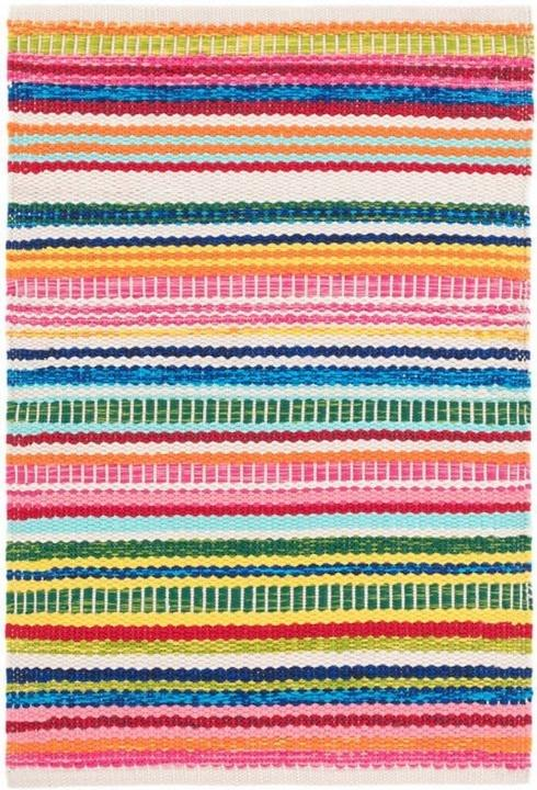 $50.00 Bright Stripe In/Out 2X3 Rug