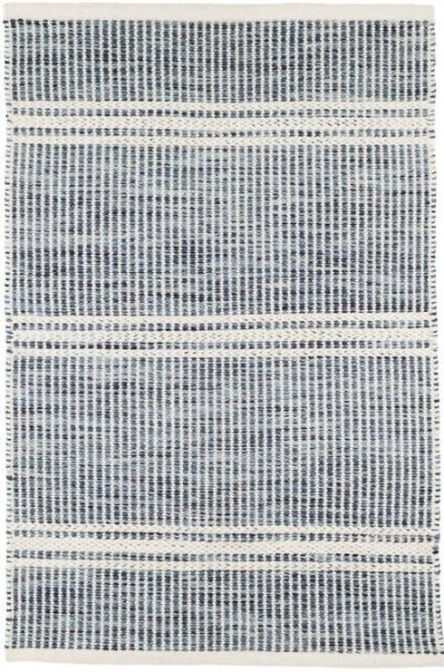 Malta Blue Wool 3X5 Rug collection with 1 products