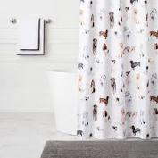 $112.00 Woof Shower Curtain