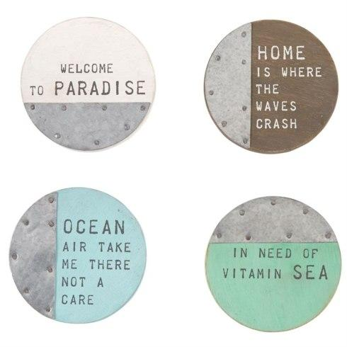 $18.00 Beach House Coaster Set
