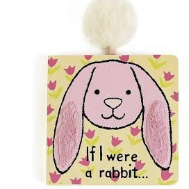 $13.00 IF I WERE A RABBIT BOOK(pink)