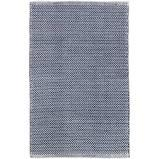 $56.00 Herringbone 2X3 Indigo/White In/Out Rug