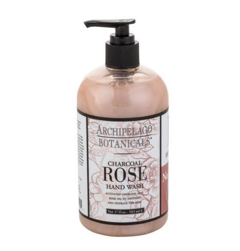 $15.00 Charcoal Rose Hand Wash