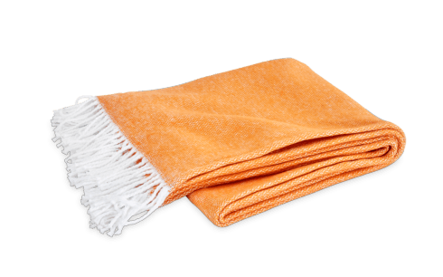 Pezzo Throw Tangerine collection with 1 products