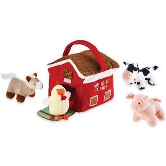 $30.00 Farm House Plush Set