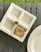 $48.00 NF Melamine Sectional Server