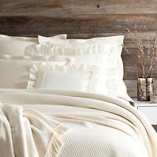 Queen Ivory Petite Trellis Matelasse collection with 1 products