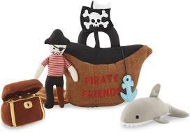 $30.00 Pirate Friends Plush Set