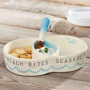Beach Circular Snack Server Set collection with 1 products