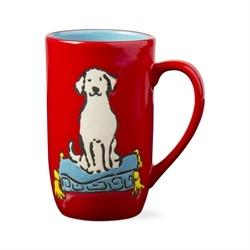 Dog On Tuffet Tall Mug collection with 1 products