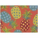 $70.00 Pineapples 2X3  In/Out Rug
