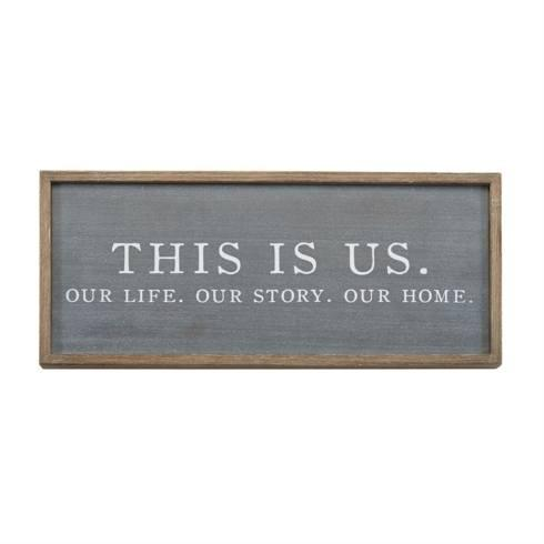 $40.00 This Is Us Plaque