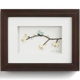 $45.00 Blossoms & Butterfly Wings Wall Art