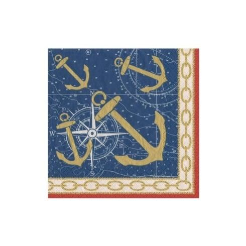 $6.95 Weigh Anchor Paper Cocktail Napkins