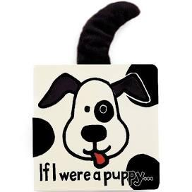 $13.00 IF I WERE A PUPPY BOOK(black & cream)