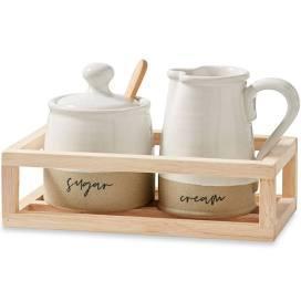 $30.00 Stoneware Cream & Sugar