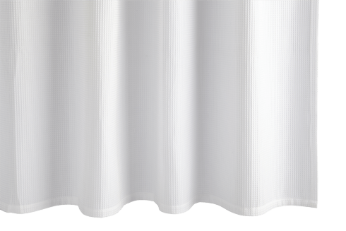 Belgian Waffle White Shower Curtain collection with 1 products