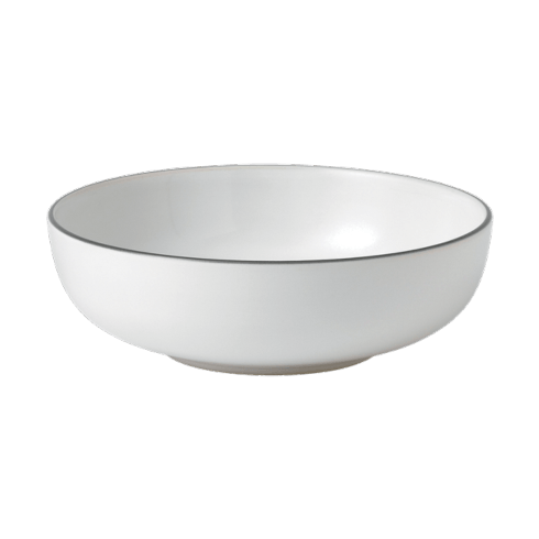 $14.00 Bread Street White Cereal Bowl