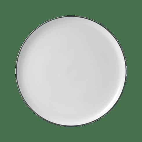 $50.00 Bread Street White Round Serving Platter