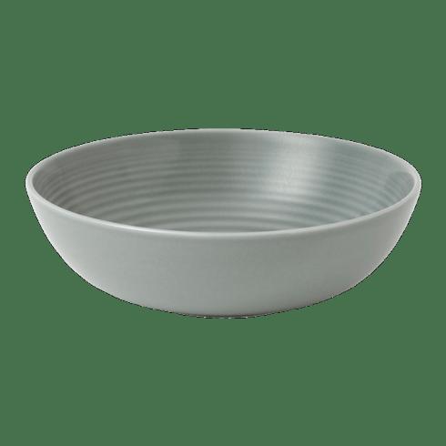$12.00 Maze Dark Grey Cereal Bowl