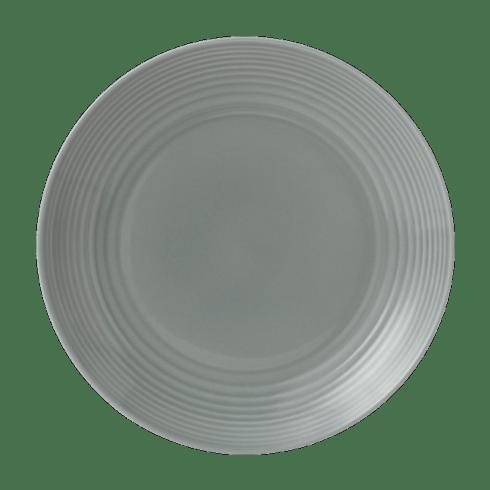 $14.00 Maze Dark Grey Dinner Plate