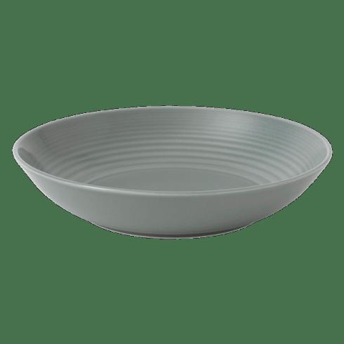 $16.00 Maze Dark Grey Pasta Bowl