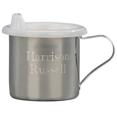 $35.00 SILVERPLATED BABY CUP WITH SIPPY LID
