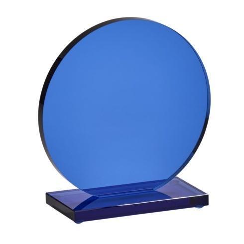 "$0.00 Cobalt Orb Trophy, 7.25"" x 5.25"""