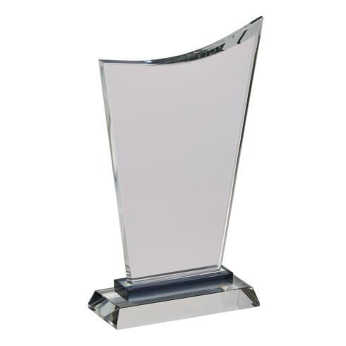 """$0.00 Wave Trophy 10.25"""" H with Black Highlight on Base"""