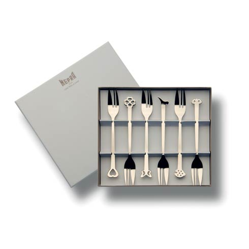 $32.00 Gift Box 6 Pcs Cake Forks