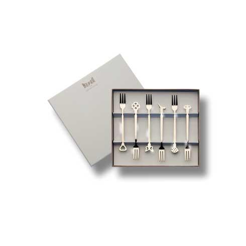 $32.00 Gift Box 6 Pcs Mini Forks