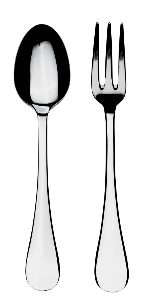 $60.00 Serving Set (Fork And Spoon)