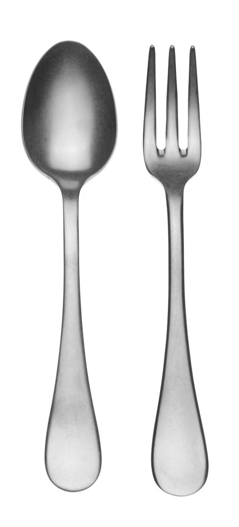 $72.00 Serving Set (Fork And Spoon)