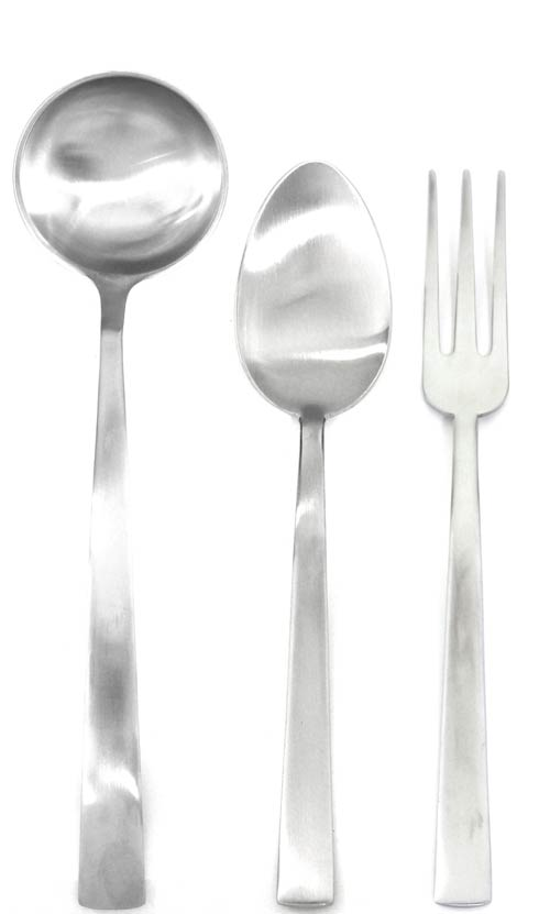 $192.00 3 Pcs Serving Set (Fork Spoon And Ladle)