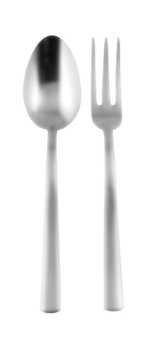 $94.00 Serving Set (Fork And Spoon)