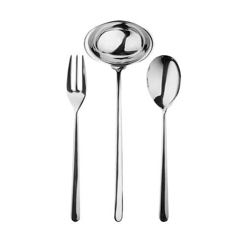 3 Pcs Serving Set (Fork Spoon And Ladle)