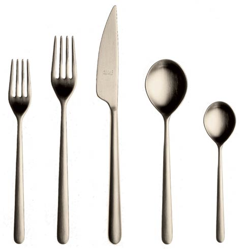 Cutlery Set 5 Pcs Champagne