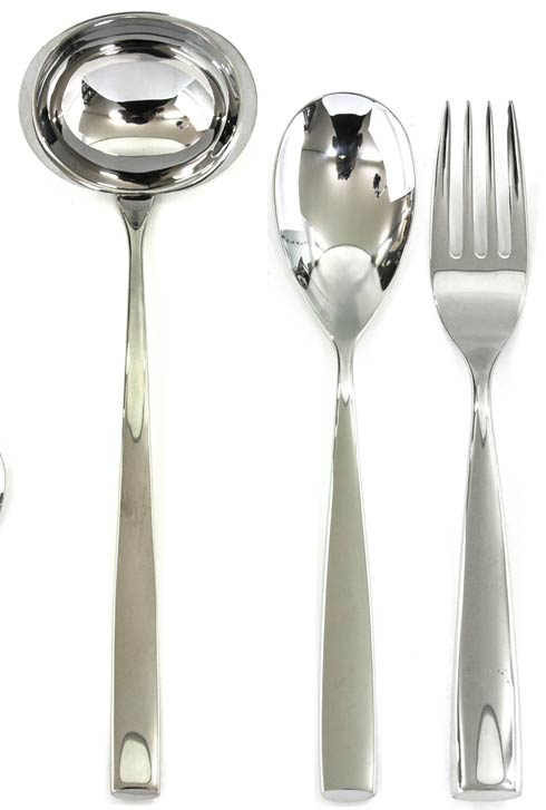 $178.00 3 Pcs Serving Set (Fork Spoon And Ladle)