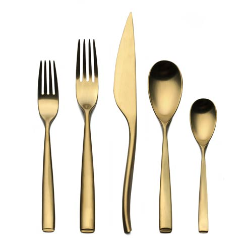 $220.00 Oro Ice Cutlery Set 5 Pcs
