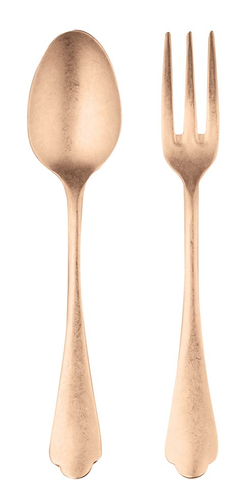 $147.84 Serving Set (Fork And Spoon) Bronze