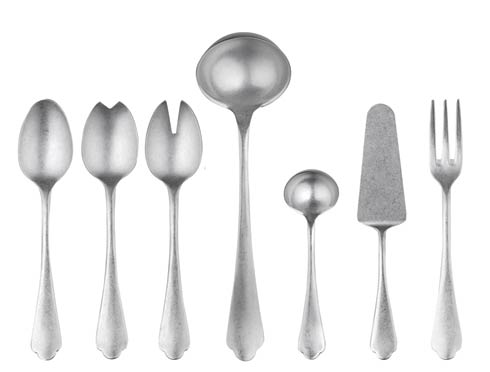 Dolce Vita Pewter collection with 17 products